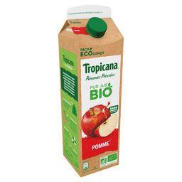 Tropicana Tropicana Pur jus de pomme Bio la brique de 85cl