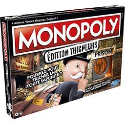 Hasbro Hasbro Monopoly Edition Tricheurs, à partir de 8 ans la boite