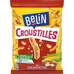 Belin Belin Croustilles - Biscuits apéritif aux cacahuètes le sachet de 88 g
