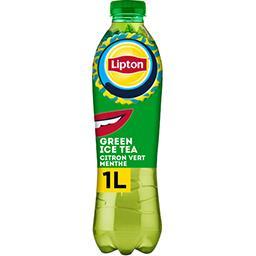 Lipton Lipton Boisson Green Ice Tea saveur citron vert menthe la bouteille de 1 l