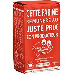 Farine de blé française T65