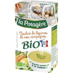 La Potagère La Potagère Mouliné de légumes de nos campagnes BIO la brique de 1 l