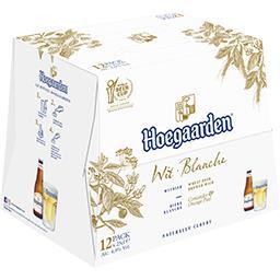 Hoegaarden Hoegaarden Bière blanche les 12 bouteilles de 25 cl