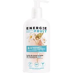Masque + après-shampooing monoï et huile de macadamia