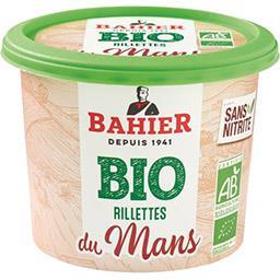 Regis Bahier Bahier Rillettes du mans BIO le pot de 220 g