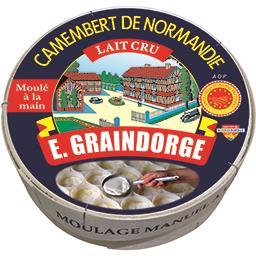 E. Graindorge E. Graindorge Camembert de Normandie au lait cru AOP le fromage de 250 g