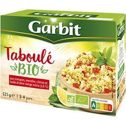 Garbit Garbit Taboulé menthe, citron & huile d'olive vierge BIO la boite de 525 g