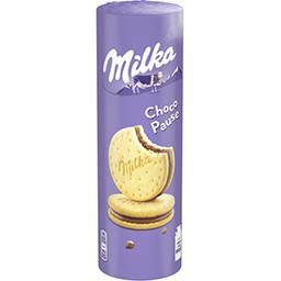 Milka Milka Biscuits Choco Pause au chocolat au lait le paquet de 13 biscuits - 260 g