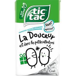 Tic Tac Tic Tac Pastilles goût orange ou pastilles goût menthe la boite de 54 g