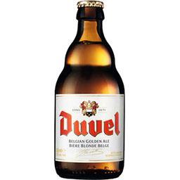 Duvel Duvel Bière blonde de spécialité Belge la bouteille de 33 cl