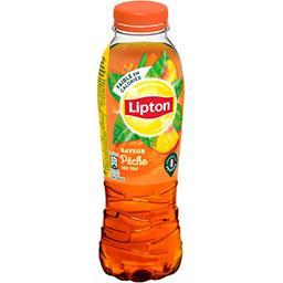 Lipton Lipton Ice Tea - Thé glacé saveur pêche la bouteille de 50 cl