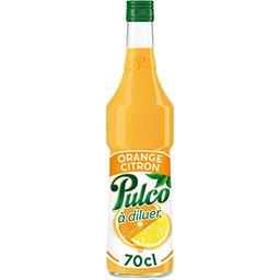 Pulco Pulco Spécialité orange citron à diluer la bouteille de 70 cl