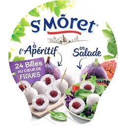 St Môret St Môret Apéritif - Billes au cœur de figues la barquette de 24 billes - 100 g