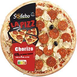 Sodeb'O Sodebo La Pizz chorizo la pizza de 470 g