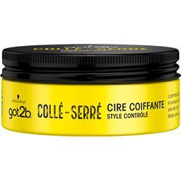 Schwarzkopf Schwarzkopf Got2b - Cire coiffante Collé-serré le pot de 75 ml
