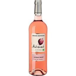 Gérard Bertrand Gérard Bertrand Vin de pays d'Oc Syrah Rosé Autrement BIO, vin rosé la bouteille de 75 cl