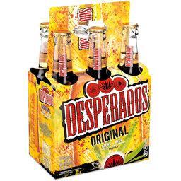 Desperados Desperados Original - Bière aromatisée Tequila les 6 bouteilles de 33cl