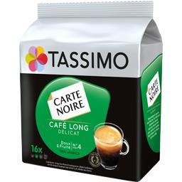 Carte Noire Tassimo Carte Noire - Capsules de café long délicat les 16 capsules de 6,9 g