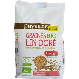 Graines de lin doré Gascogne BIO