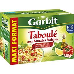 Garbit Garbit Taboulé aux tomates menthe citron la boite de 730 g - Maxi Format