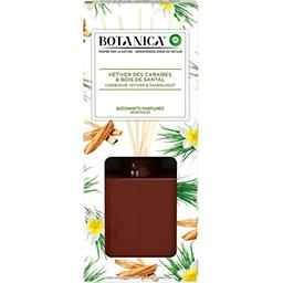 Botanica - Bâtonnets parfumés Vétiver des Caraïbes & bois de Santal