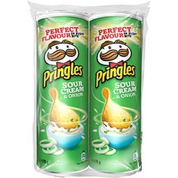 Pringles Pringles Snack crème & oignon les 2 boites de 175 g