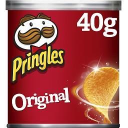 Pringles Pringles Chips Tuiles Original la boîte de 40g