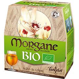Brasserie Lancelot Lancelot Bière blonde Morgane BIO les 6 bouteilles de 25 cl