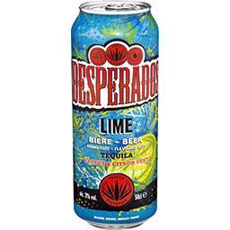 Desperados Desperados Lime - Bière aromatisée Tequila citron vert cactus la canette de 50cl