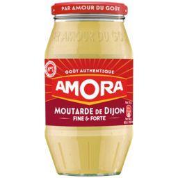 Amora Amora Moutarde de Dijon Fine et Forte le bocal de 440g