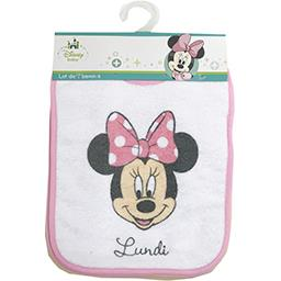 Walt Disney Disney Baby - Bavoirs Minnie le lot de 7 bavoirs