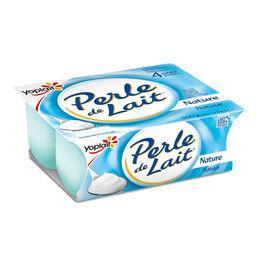 Yoplait Yoplait Perle de Lait - Spécialité laitière nature les 4 pots de 125 g