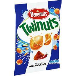 Bénénuts Bénénuts Twinuts - Cacahuètes saveur Mexicaine le sachet de 150 g