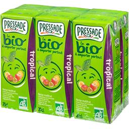 Pressade Pressade Le BIO - Nectar tropical les 6 briques de 20 cl