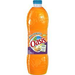Oasis Oasis Boisson à l'eau de source multifruits la bouteille de 2 l