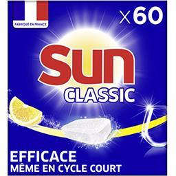 Sun Sun Classic - Tablette de lavage citron la boite de 60 - 570 g