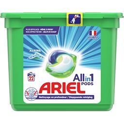 Ariel Ariel Lessive en capsules allin1 pods alpine La boite de 22 capsules