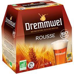 Dremmwel Dremmwel Bière rousse BIO les 6 bières de 25 cl