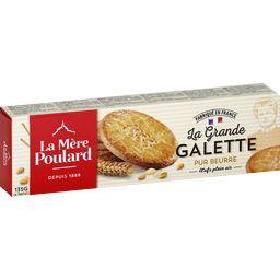 Mère Poulard Mère Poulard Grandes galettes pur beurre le paquet de 8 - 135 g
