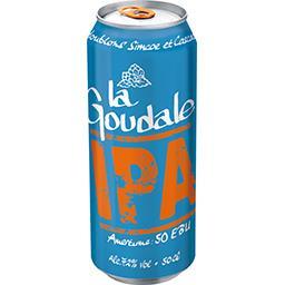 La Goudale La goudale Bière IPA la canette de 50 cl