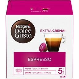 Nescafé NESCAFE NESCAFE DOLCE GUSTO Espressso 16 Capsules 6x88g Boîte 88.0000