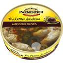 Parmentier Les Petites Sardines aux deux olives la boite de 150 g