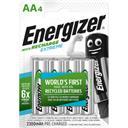 Energizer Exteme - Piles rechargeables AA HR6 les 4 piles
