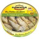 Parmentier Les Petites Sardines à l'huile d'olive vierge extra la boite de 150 g