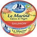 Petit Navire Emietté de saumon citron & thym la boite de 110 g