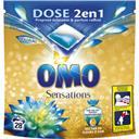 Omo Sensation - Capsules de lessive 2 en 1 nectar fleurs... les 28 capsules de 26,3 g