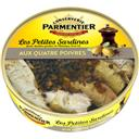 Parmentier Les Petites Sardines aux quatre poivres la boite de 150 g