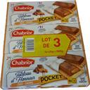 Chabrior Biscuits Tableau d'Honneur choco caramel les 3 paquets de 120 g