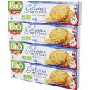 Chabrior Galettes Bretonnes BIO pur beurre le lot de 4 boites de 130g