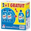 X-Tra Total - Lessive liquide les 2 bidons de 1,890 l - 5,67 l